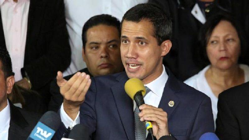 Guaidó asegura que Asamblea Nacional podría aprobar una intervención de EE. UU. en Venezuela
