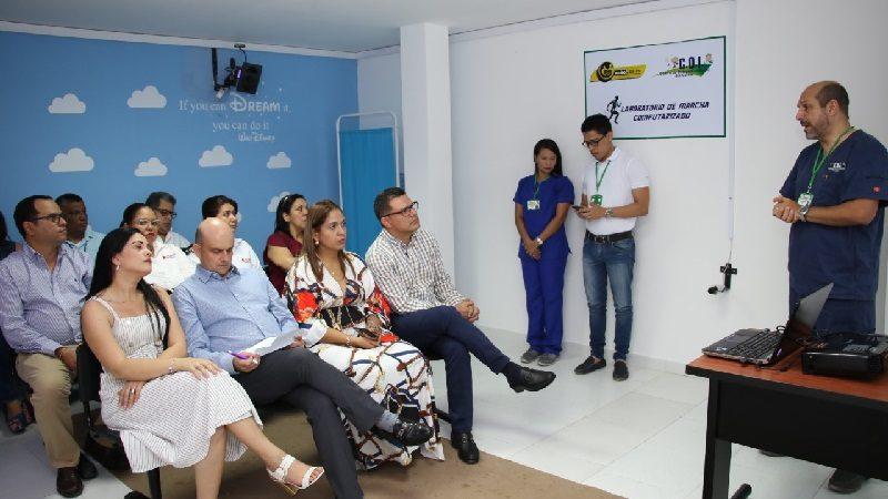Hospital Niño Jesús del Atlántico tiene el primer Laboratorio de Marcha de la Región Caribe