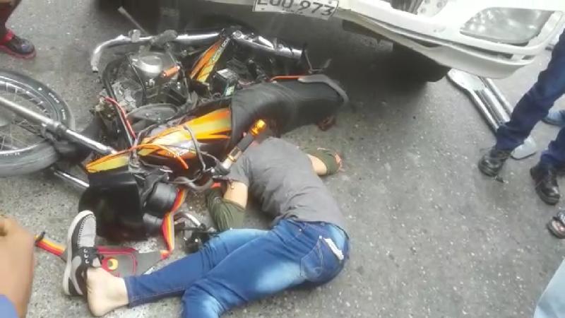 Joven venezolano murió arrollado por un furgón en la Cordialidad