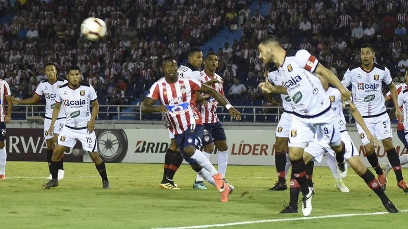 Junior perdió 1-0 ante Melgar y no irá la Suramericana