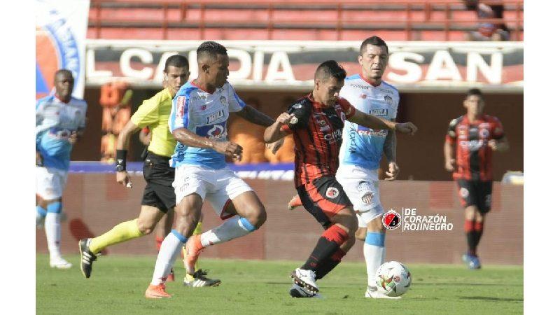 Junior sigue mal, perdió 1-2 ante el Cúcuta, en el General Santander