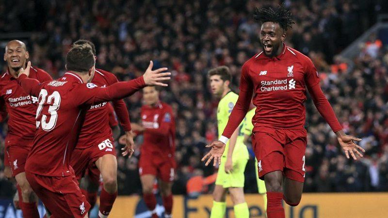 Liverpool remontó, goleó y eliminó al Barcelona en la Liga de Campeones