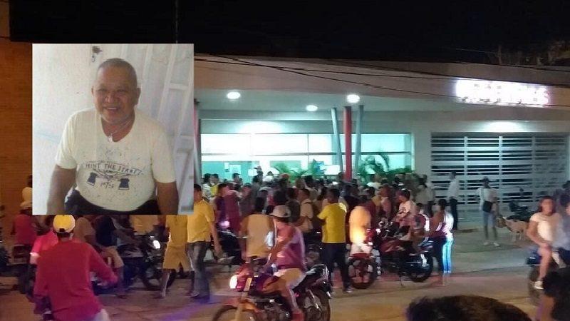Lo matan de cuatro tiros cuando estaba sentado en la puerta de su casa, en Puerto Colombia