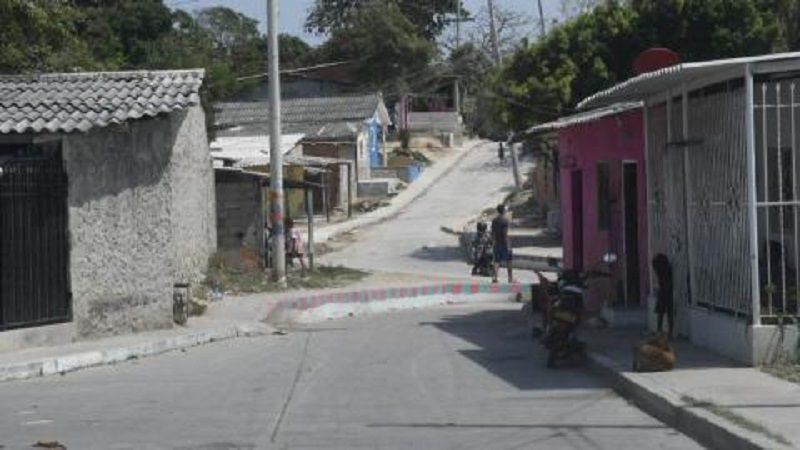 Menor de edad resultó herida en medio de atraco en el barrio El Bosque