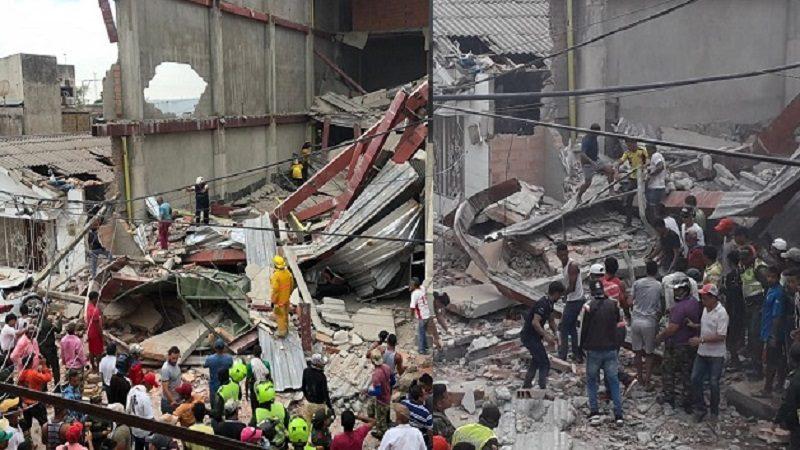 Obra en edificio desplomado en Fundación había sido suspendida, pero ignoraron la orden