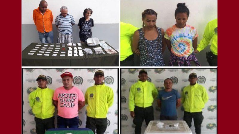 Policía desmanteló cuatro caletas de droga en Barranquilla y Soledad