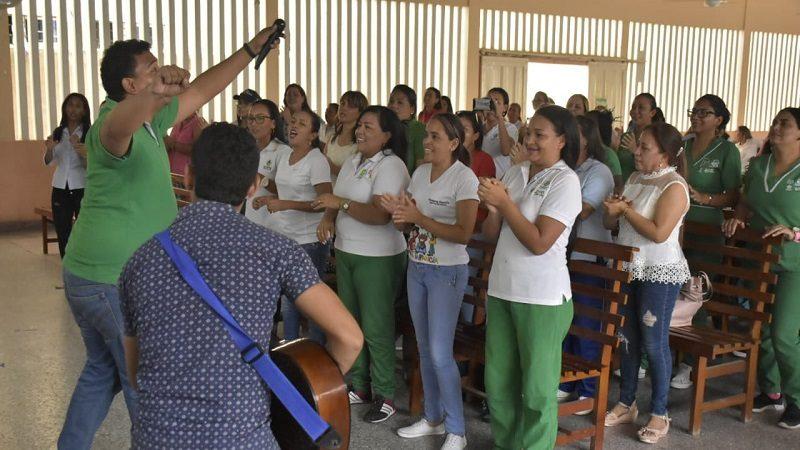 Programa de Primera Infancia rindió homenaje a los maestros en su día