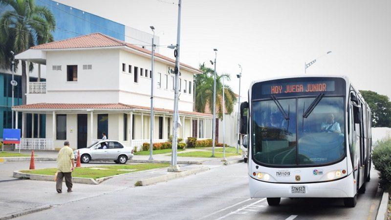 Transmetro tendrá seis buses adicionales al finalizar Junior vs. Nacional, este domingo 12 de mayo