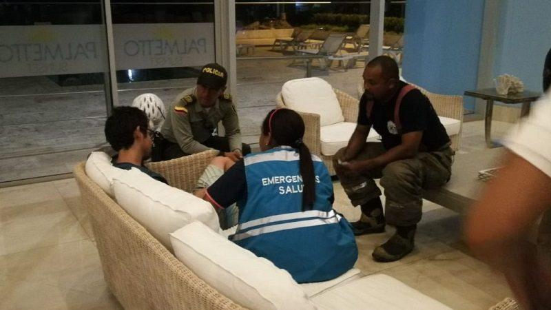 Turista estuvo a punto de lanzarse del piso 43 de un edificio en Cartagena