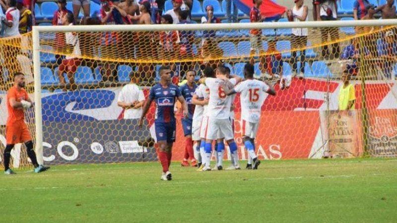 Unión Magdalena perdió 1-3 ante Pasto, , primer partido de cuadrangular