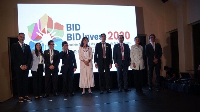 Barranquilla, oficialmente sede de la Asamblea Anual de Gobernadores del BID y BID Invest 2020