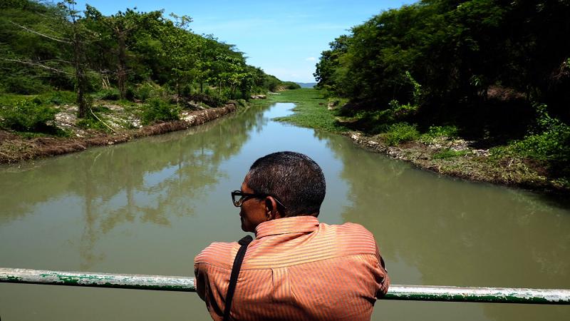 Comenzaron obras de rehabilitación del distrito de riego de Repelón