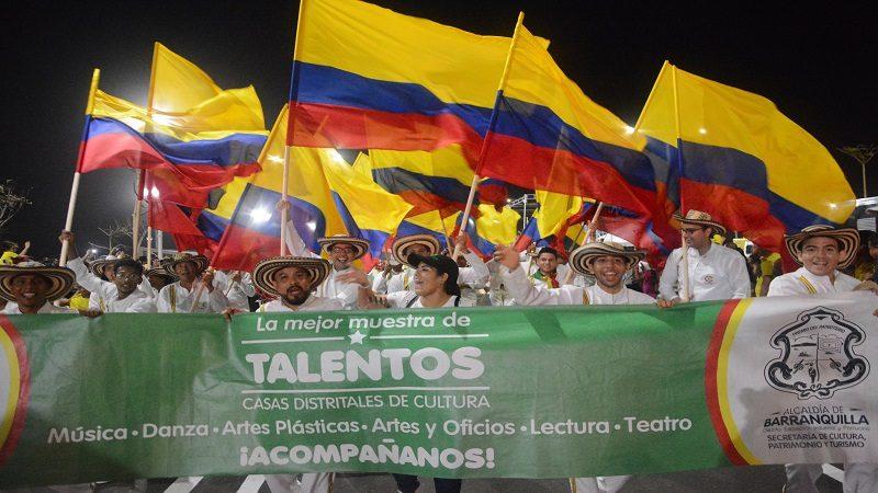 Con fin de semana patriótico, Barranquilla celebra la independencia de Colombia
