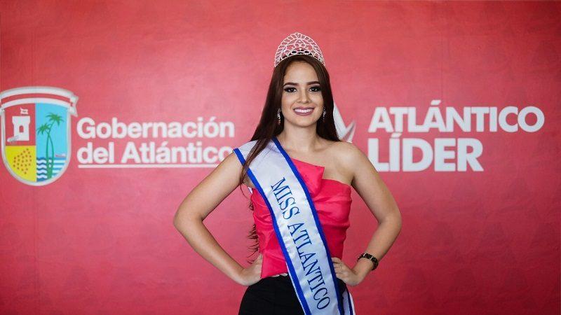 Hillary Cerra Franco, representante del Atlántico a Miss Mundo Colombia