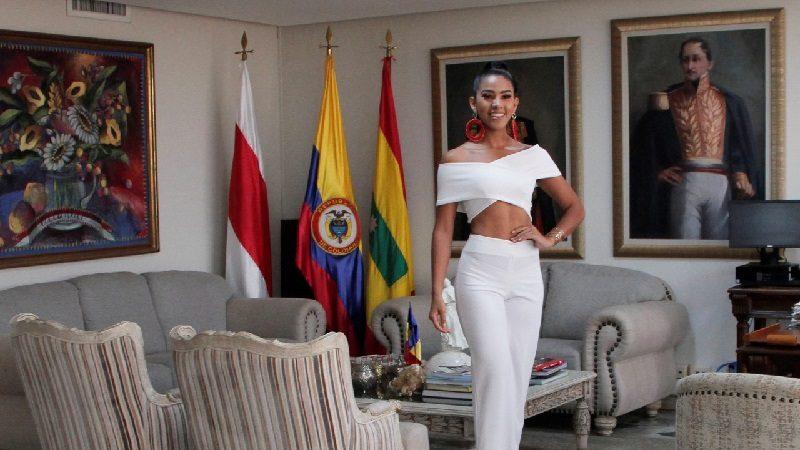 Linda Isabel Gómez, candidata al Reinado Nacional del Mar, por el departamento del Atlántico