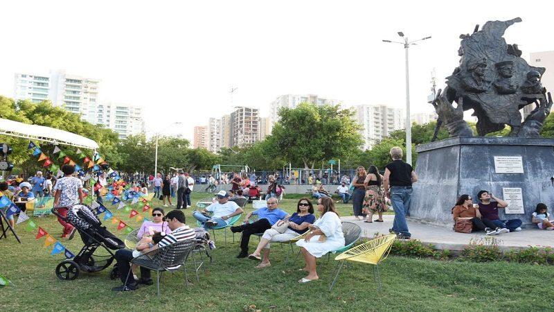 Más de 3.000 familias vivieron un viaje literario en 'Libraq al Parque'