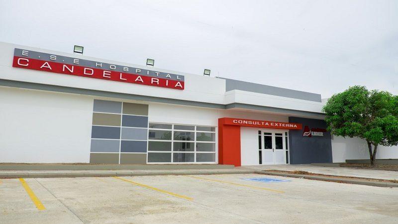 Ultiman detalles para poner al servicio moderno hospital en Candelaria, Atlántico