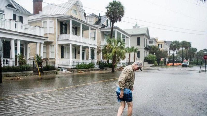 Las Carolinas sufren primer impacto por llegada de 'Dorian' a EE. UU.
