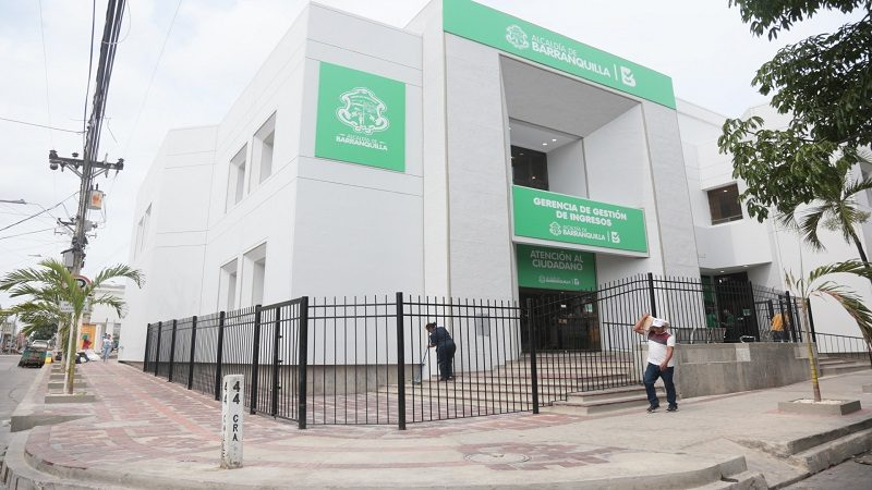 Los barranquilleros cuentan con una nueva sede de Gestión de Ingresos