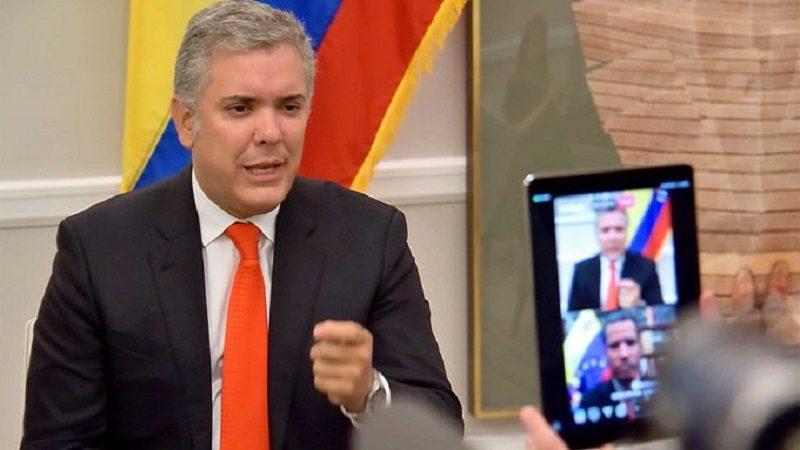 """""""Que no venga ahora a hablar de misiles, más bien que le dé comida a su pueblo"""": Duque a Maduro desde Barranquilla"""