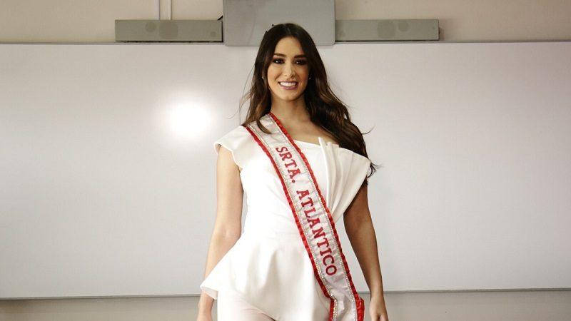 Señorita Atlántico, Claudette Abuchaibe Sabogal, será coronada en el municipio de Malambo