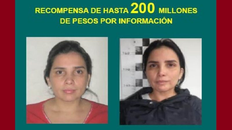 A $200 millones aumentan recompensa por información sobre Aída Merlano