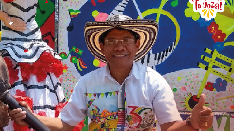 Alcides Romero, elegido Rey Momo del carnaval de Barranquilla 2020