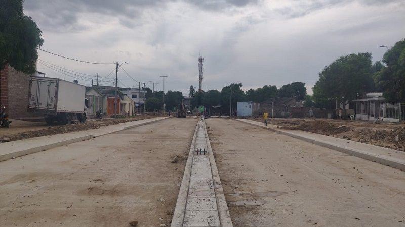 """""""Conexión de Murillo con la calle 30, a través de la carrera 4, está pavimentada en su totalidad"""": alcalde Char"""