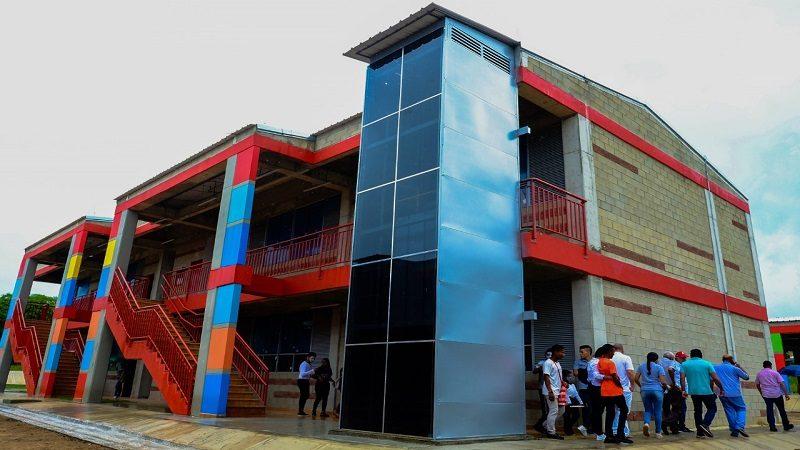 En Atlántico, avanzan obras de remodelación de 28 colegios