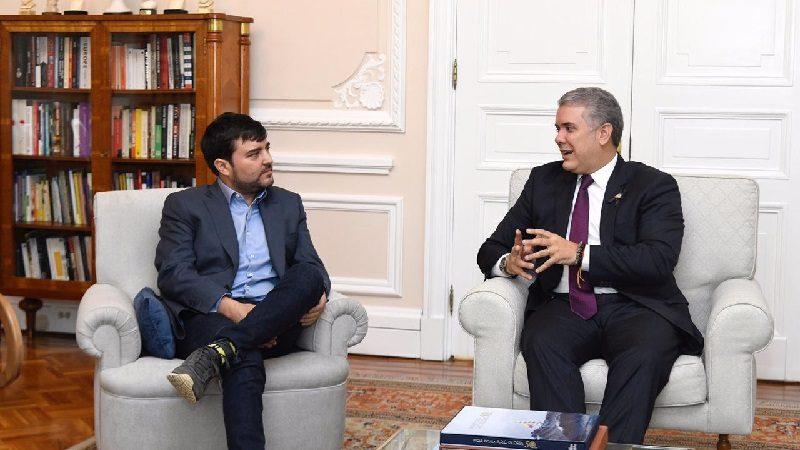 En reunión con presidente Duque, Jaime Pumarejo comparte los proyectos que realizará en Barranquilla