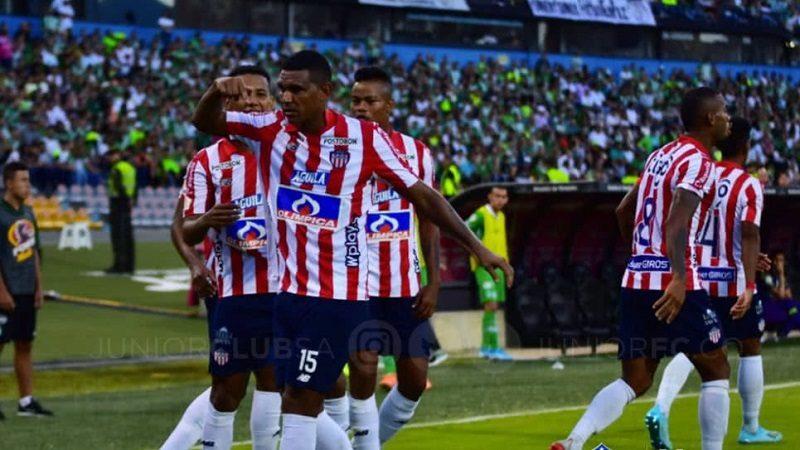 Junior derrotó 1-0 al Nacional, en Medellín