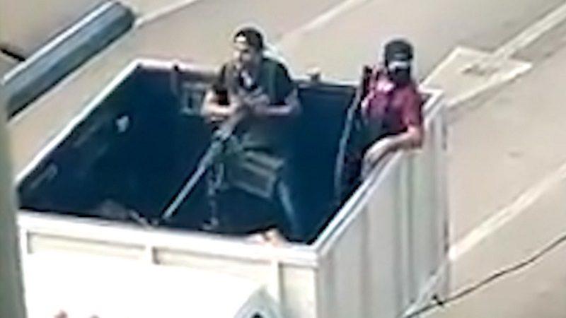 Sicarios del Cartel de Sinaloa humillaron a la Policía con poderosa ametralladora
