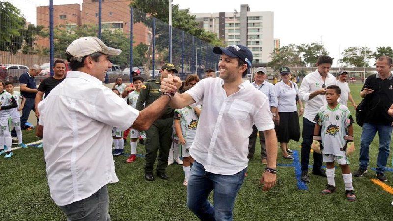 Alcalde Char entregó el remodelado parque Villa Tívoli, en el norte de Barranquilla