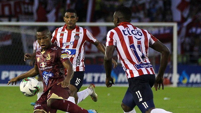 Junior cayo 1-3 ante Tolima, en primer juego de semifinales