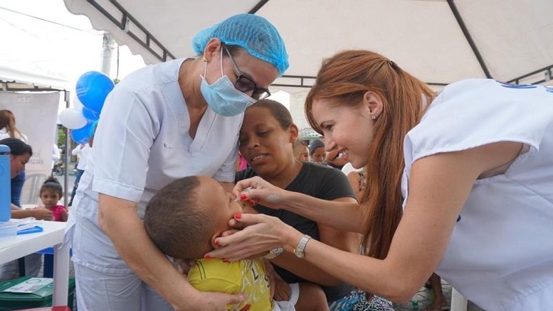 Con éxito Barranquilla respondió en la primera jornada nacional de vacunación 2020