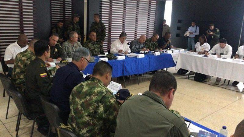 Ministerio de Defensa lanza ofensiva contra la violencia en el Chocó