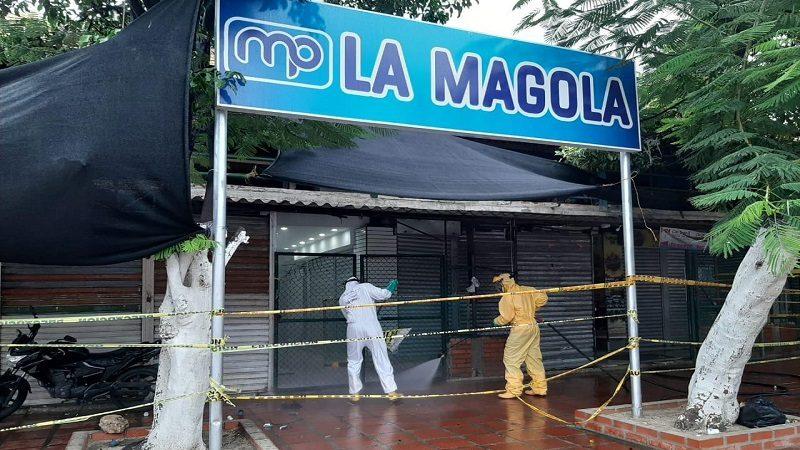 Distrito continúa con el lavado y desinfección de áreas púbicas en Barranquilla