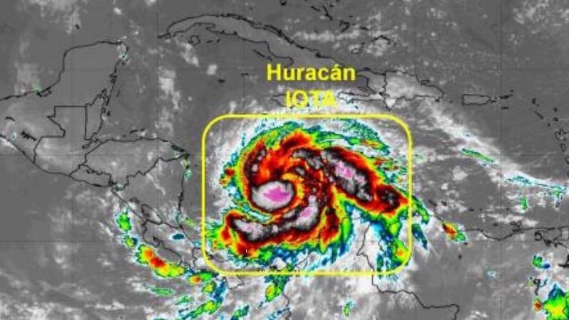 Atención: 'Iota' ya es huracán y seguirá afectando a Barranquilla y Cartagena, según el CIOH