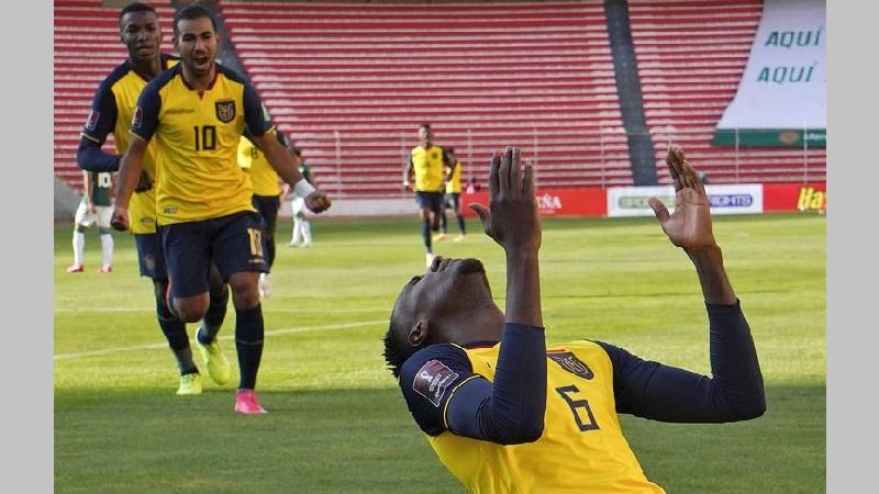Ecuador venció 2-3 a Bolivia, en La Paz