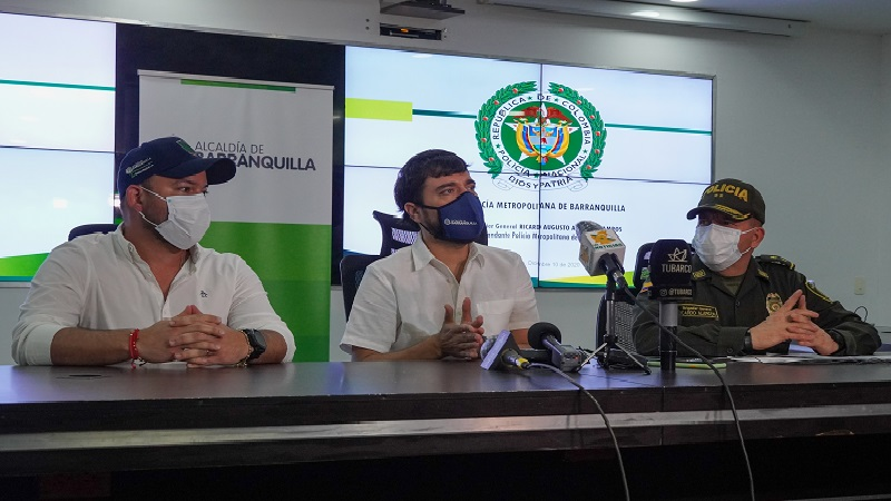"""""""El delincuente en Barranquilla a los pocos meses está tras las rejas o ha sido dado de baja"""": alcalde Pumarejo"""