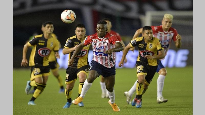 Junior cayó 2-1 ante Coquimbo de Chile en Copa Sudamericana