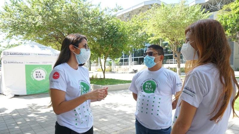 Lanzan en Barranquilla Puntos de Vacuna Emocional: para prevenir suicidios y violencia intrafamiliar