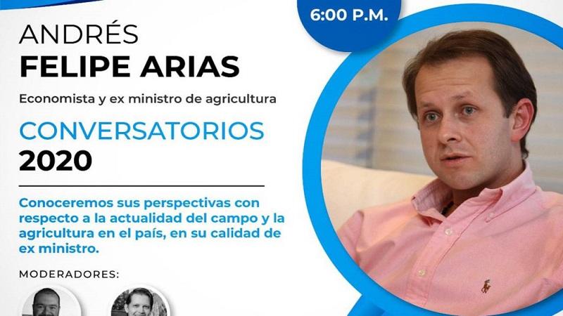 Críticas en redes por conversatorio con Andrés Felipe Arias