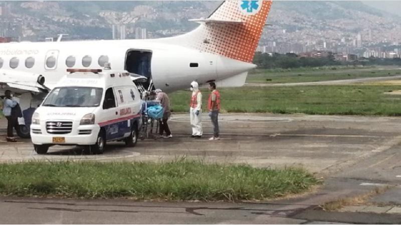 Jorge Oñate fue trasladado de urgencia a una clínica de Medellín