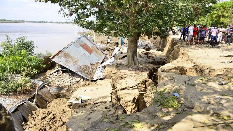 Emergencia: Río Magdalena arrasó con cuatro viviendas