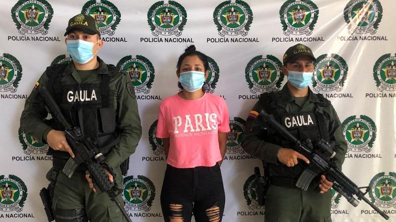 Alias 'Patricia', la mujer vinculada al atentado con granada en el centro de Barranquilla