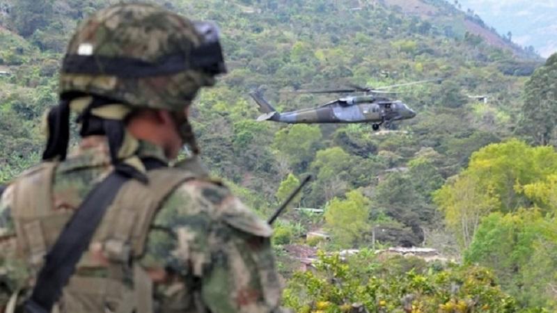 Ejército dio de baja a 14 guerrilleros de las Farc en combates: un militar muerto