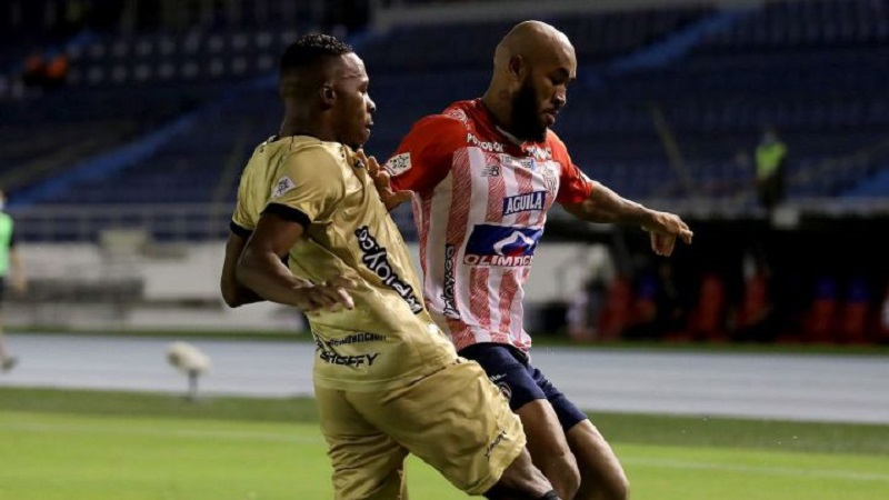 Junior no pudo con Águilas Doradas: empataron 0-0 en el Metropolitano
