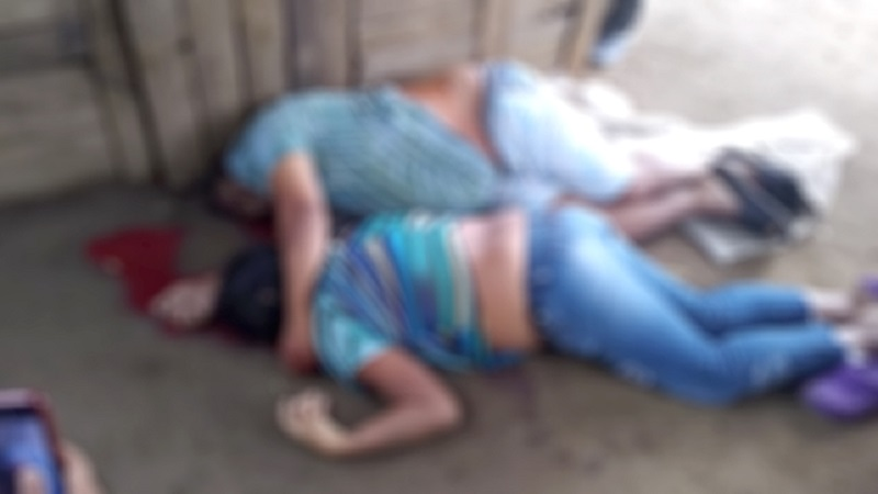 A balazos asesinan a una pareja en una venta de frutas