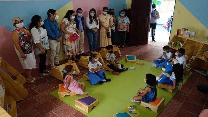 El Atlántico estrena Sala de Lectura para la Primera Infancia